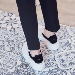 Alexander McQueen6.3折,36.5-40码!黑尾小白鞋
