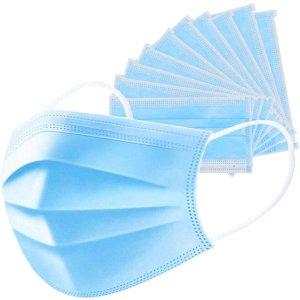 PARASOL4-Layer Disposable Respiratory Protective Face Mask -- 10 Masks