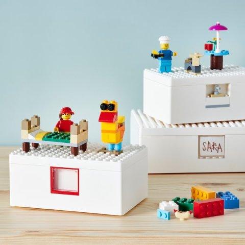 $20起 免费入会得$10优惠券澳洲开售:IKEA x Lego联名系列 拼接趣味小人发挥想象力