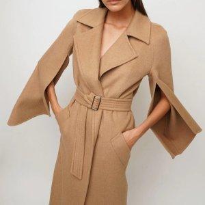 低至2.8折 €126.7收羊绒围巾Max Mara 反季超值捡漏 张小斐同款驼色大衣仅售€548