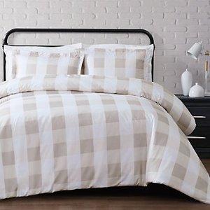 低至1.7折 $27.91起Rue La La 优质床品套装热卖中 爱上卧室的舒适温馨