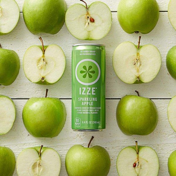 气泡果汁 青苹果口味 24罐装