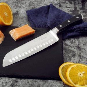 折后仅€25 凹槽设计防粘连Sky light 日式厨师刀热促 高品质碳素钢锋利耐用