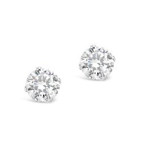 GWP $70+ Add to CartSterling Silver CZ Stud EarringsSilver
