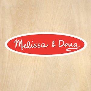 低至7.5折+无税Melissa & Doug 儿童玩具特卖 动手又益智