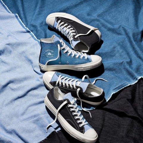 2双7折,1双8.5折,封面款£56Converse 大促牛油果Chuck 70、小脏鞋、意大利设计款都参与