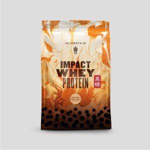 MYPROTEIN黑糖珍珠奶茶口味 Impact 乳清蛋白粉