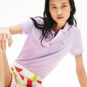 LacosteWomen's Stretch Cotton Pique Polo