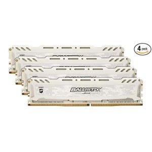 MicronBallistix Sport LT 64GB (16GBx4) 3000MHz DDR4 C16