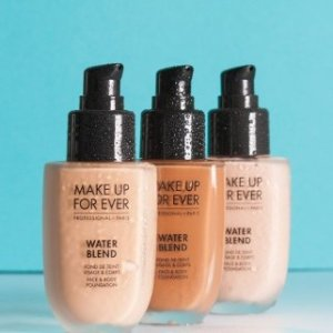 $30.1(Was $43)Make Up For Ever Water Blend Foundation Hot Sale