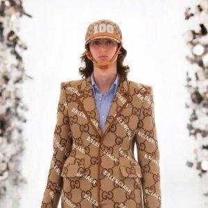 LOGO X 老花 最新秀场直击>>Gucci X Balenciaga巴黎世家 世纪联名 震撼官宣!