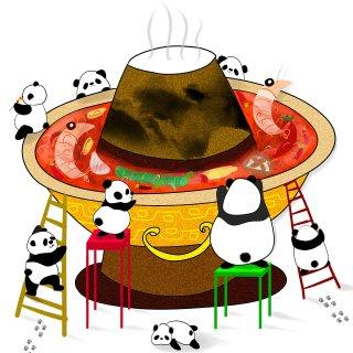 围锅而食的温暖火锅情怀