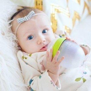 超值价¥127史低价:Comotomo 母乳实感奶瓶 150ml*2