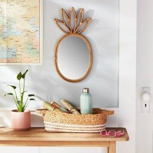 Pillowfort菠萝造型镜子