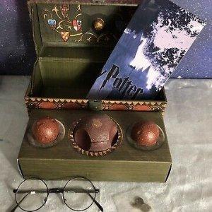 6.3折 €19.99(原价€31.5)Harry Potter 哈利波特 珍藏版魁地奇球套装 粉丝必入超精致