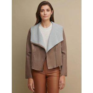 Wilsons LeatherAsymmetrical Lightweight Jacket