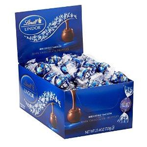 Lindt LINDOR  瑞士莲软心黑巧克力 60粒