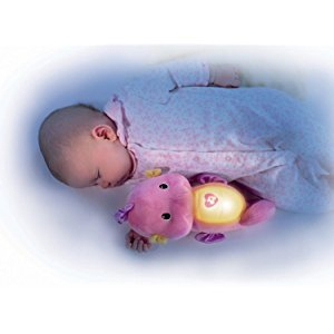 Amazon.com: Fisher-Price Soothe and Glow Seahorse, Pink: Toys & Games