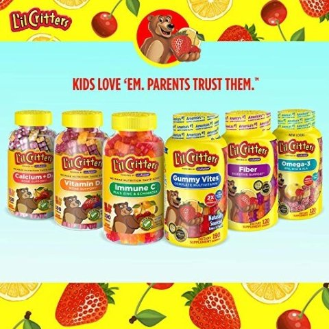 As low as $4.98L'il Critters Kids Multivitamins