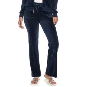 $20 凑单佳品Juicy Couture 丝绒长裤