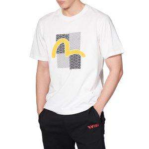 Evisu超级大白菜!海鸥标T恤