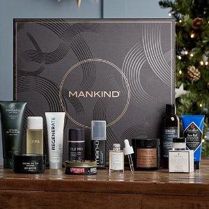 1.2折 仅$79.2(价值$673)回归!Mankind榜单美妆礼盒 12件正装:CR洗头膏、Elemis面霜