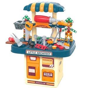 史低价:BFUNTOYS 儿童工作台玩具套装,246件