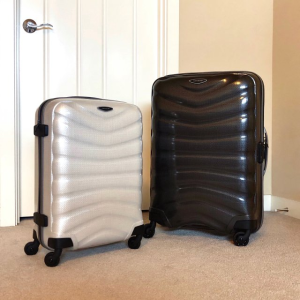 低至3.8折 透粉色登机箱仅€105Samsonite 新秀丽行李箱 德国品质 坚固耐用 好看轻便