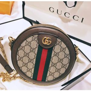 罕见65折起 €680收老花小圆饼Gucci 全网最低 经典Marmont、马卸扣、竹节包都在 手慢无