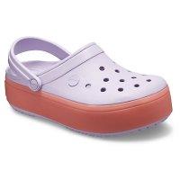 Crocs 厚底洞洞鞋