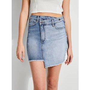 Rework Denim Bodycon Skirt at Guess