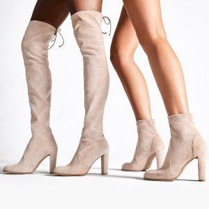 低至4折 工装靴$390Stuart Weitzman 美鞋热卖,封面同款高跟踝靴$230