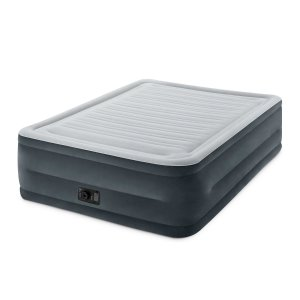 $32Intex Comfort Plush Elevated Dura-Beam Airbed with Built-in Electric Pump, Bed Height 22