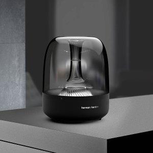 $129.99Harman Kardon Aura Black Wireless Stereo Speaker System (Recertified)