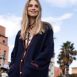 低至4折 £140收蕾丝裙Sandro 法风美衣热卖  新款学院风、小香风加入