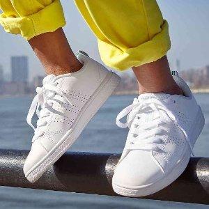 $31.9(原价$65)Adidas VS Advantage Clean 女童款运动鞋 - 多色可选