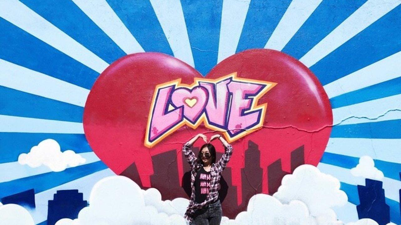 洛杉矶网红墙:街头涂鸦的爱