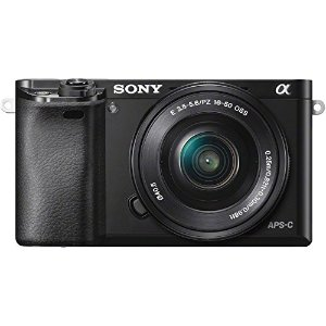 $359.99Sony Alpha a6000+16-50mm镜头