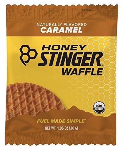 有机蜂蜜夹心华夫饼干 焦糖口味 16袋装