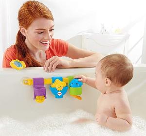 $9.97(原价$23.08)费雪Fisher-Price Splash and Play 婴儿洗澡玩具