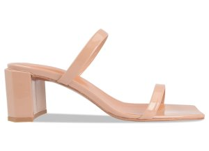 TANYA NUDE PATENT LEATHER