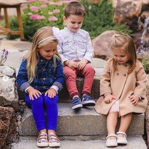 低至6折+额外7.5折Zutano 精选儿童产品劳工节日特卖 新款幼小童鞋舒适百搭