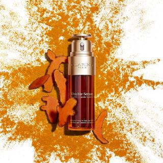 送4件套 含明星卸妆、唇蜜Clarins 网上专享活动 入限量版双萃、定妆喷雾
