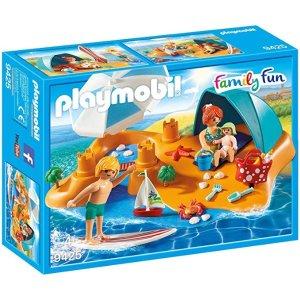Playmobil家庭海滩之旅