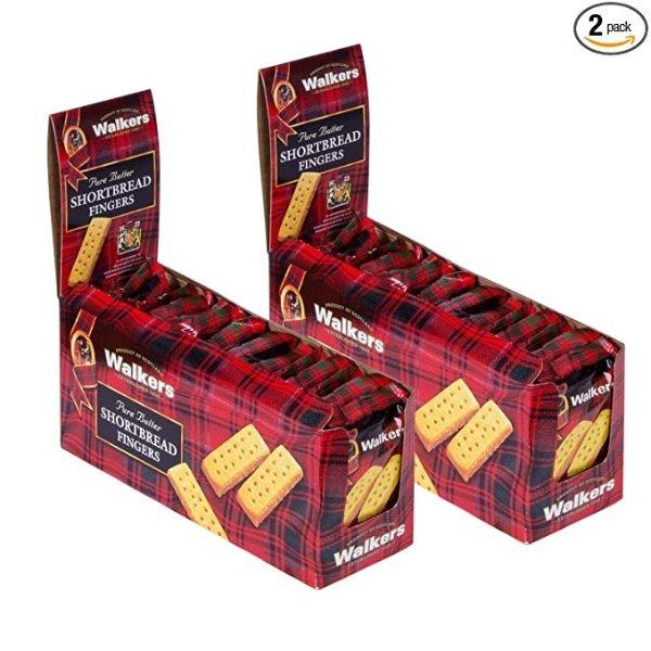 方条黄油饼干 15包装 共2盒 每包2块