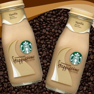 As Low As $12.34Starbucks Frappuccino Glass Bottles, 9.5 Fl Oz (15 Count)