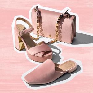 全场7.5折 £281收粉色小包Tory Burch 名媛风新款美包美鞋热卖