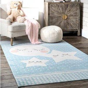 童趣图案地毯