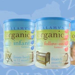 无门槛立减+包税免邮中国Bellamy's  奶粉辅食精选,嗯哼同款1、2、3段奶粉热卖