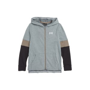 472774cf1 Nordstrom offers Under Armour Kids Sale, up to 55% off. Free shipping. Under  ArmourRival Full Zip Hoodie